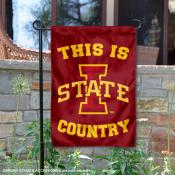 This is Iowa State Country Garden Flag