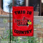 This is ISU Redbirds Country Garden Flag