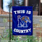 This is Memphis Tigers Country Garden Flag