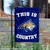 This is MSU Bobcats Country Garden Flag