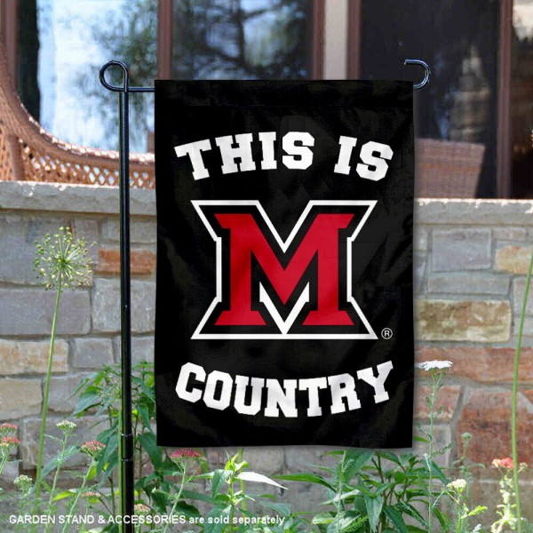 This is MU Redhawks Country Garden Flag