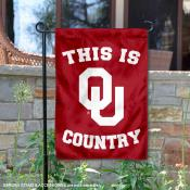 This is OU Sooners Country Garden Flag