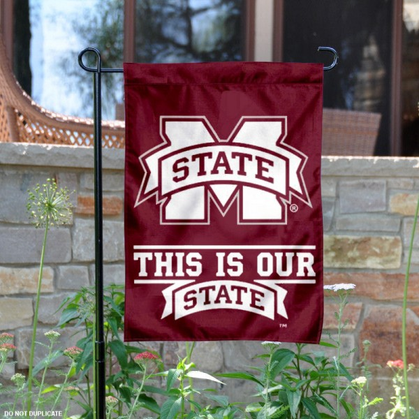 This is Our State Garden Flag