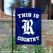 This is Rice Owls Country Garden Flag