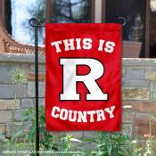 This is Rutgers Country Garden Flag