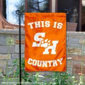 This is SHSU Bearkats Country Garden Flag