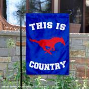 This is SMU Country Garden Flag