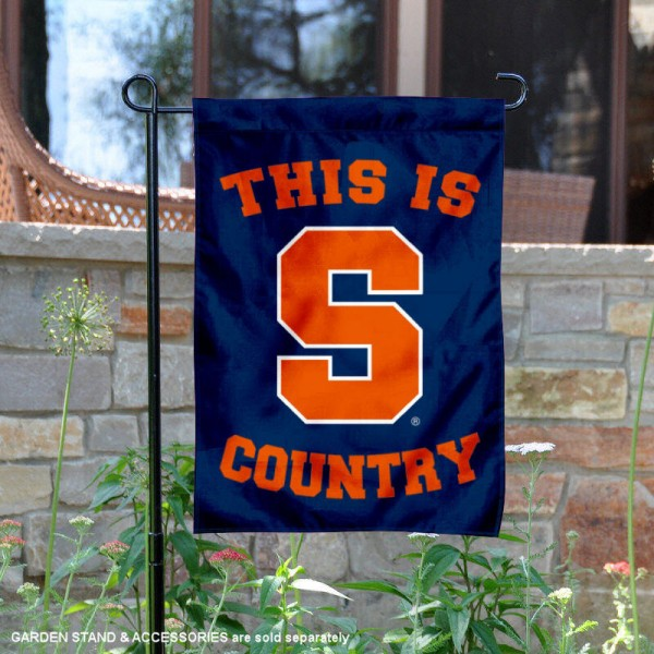 This is Syracuse Country Garden Flag