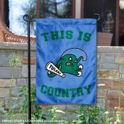 This is Tulane Green Wave Country Garden Flag