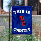 This is Tulsa Hurricanes Country Garden Flag