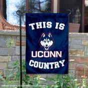 This is UCONN Country Garden Flag