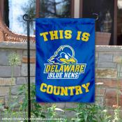 This is UD Blue Hens Country Garden Flag
