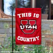 This is Utah Country Garden Flag