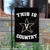 This is Vanderbilt Commodores Country Garden Flag