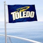 Toledo Rockets Boat Nautical Flag
