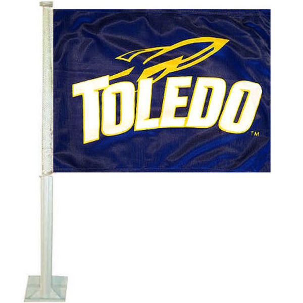 Toledo Rockets Car Flag