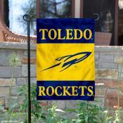 Toledo Rockets Garden Flag