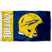 Toledo Rockets Helmet Flag
