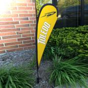 Toledo Rockets Mini Teardrop Garden Flag