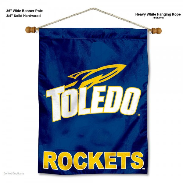 Toledo Rockets Wall Hanging