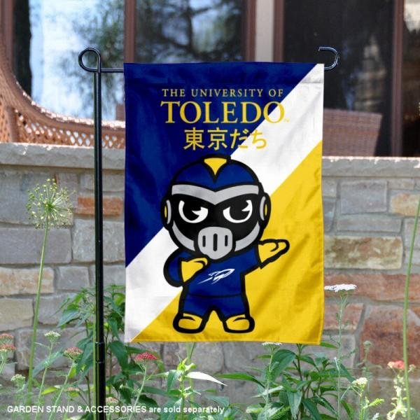 Toledo Rockets Yuru Chara Tokyo Dachi Garden Flag