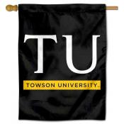 Towson Tigers Banner Flag