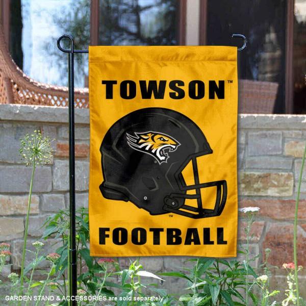 Towson Tigers Football Garden Flag