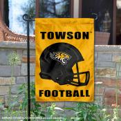 Towson Tigers Football Garden Flag