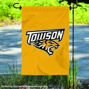 Towson University 2 Ply Double Sided Garden Flag