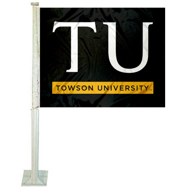Towson University Car Flag