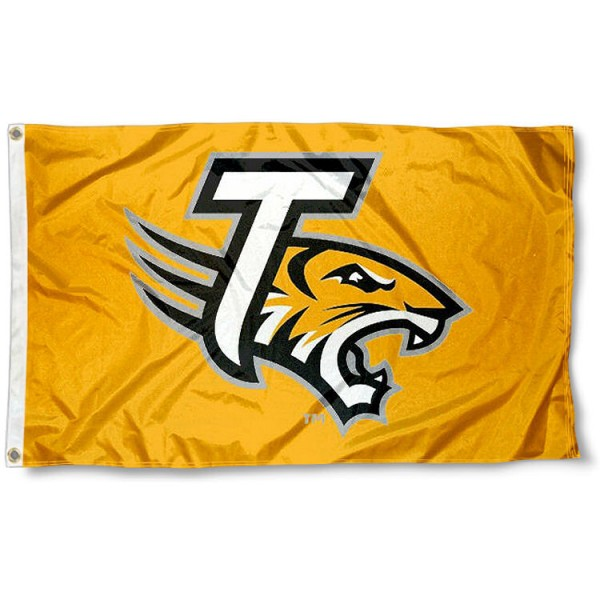 Towson University Gold Logo Flag