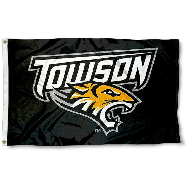 Towson University Tigers Flag