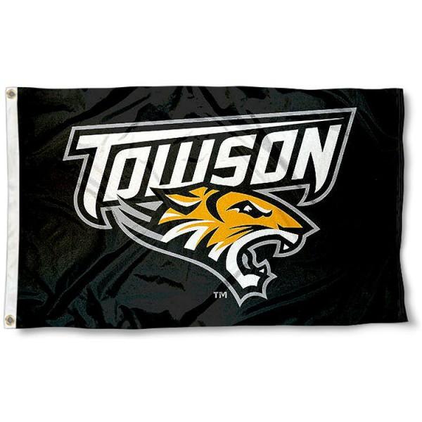 Towson University Tigers Flag