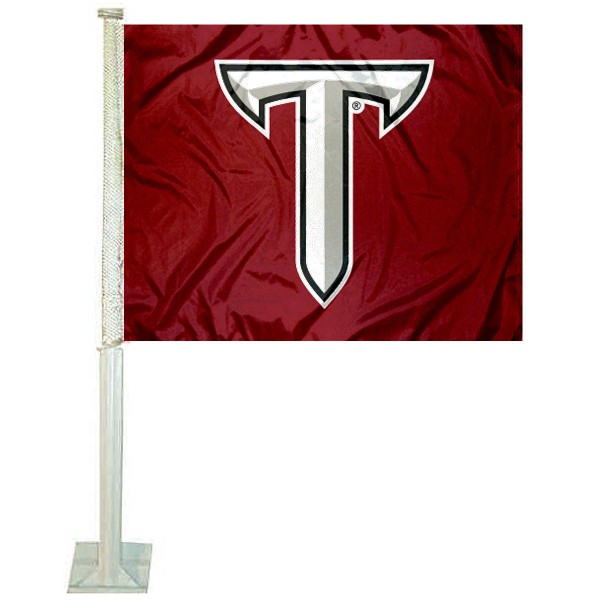Troy Trojans Car Flag
