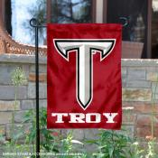 Troy Trojans Power T Garden Banner