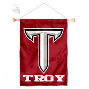 Troy Trojans Small Wall and Window Banner