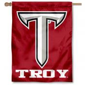 Troy University Logo House Flag