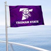 Truman Bulldogs Boat Nautical Flag