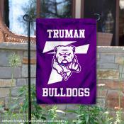 Truman State University New Logo Double Sided Garden Flag