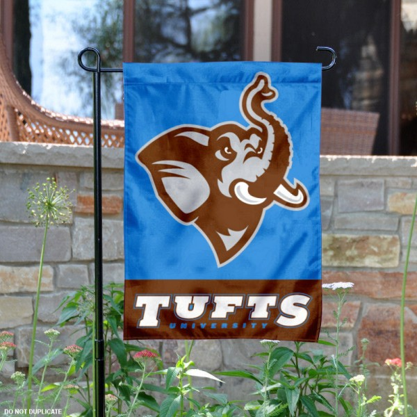 Tufts Jumbos Garden Flag