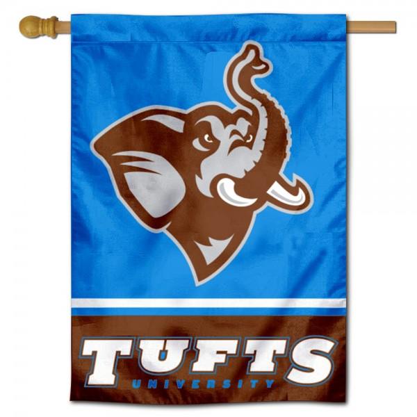 Tufts Jumbos House Flag