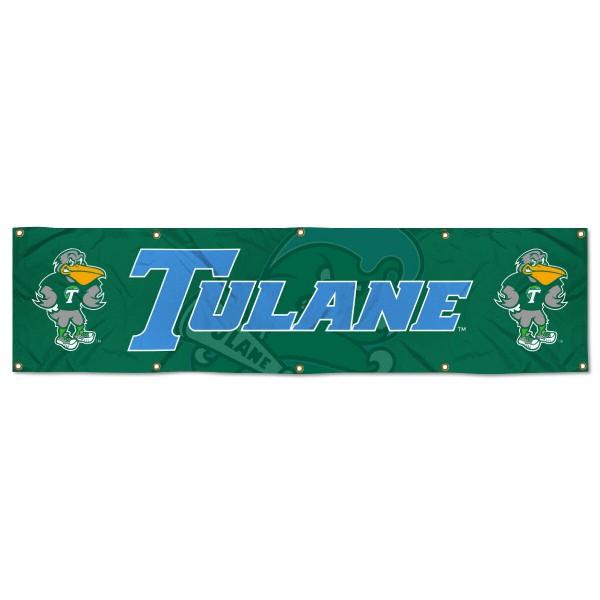 Tulane Green Wave 2x8 Banner
