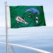 Tulane Green Wave Boat Nautical Flag