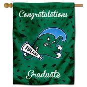 Tulane Green Wave Graduation Banner