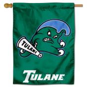 Tulane Green Wave House Flag