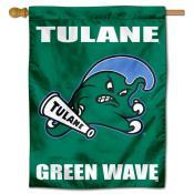 Tulane Green Wave House Flag