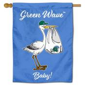 Tulane Green Wave New Baby Banner