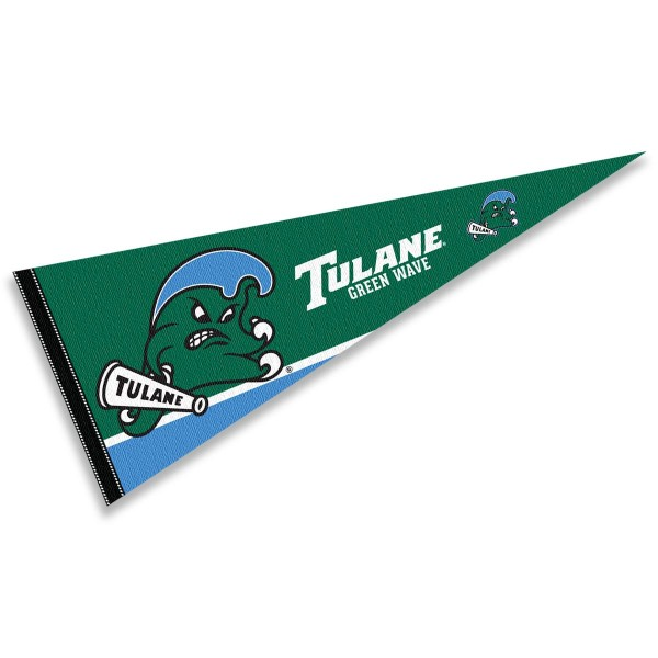 Tulane Green Wave Pennant