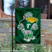 Tulane Green Wave Riptide Mascot Garden Flag