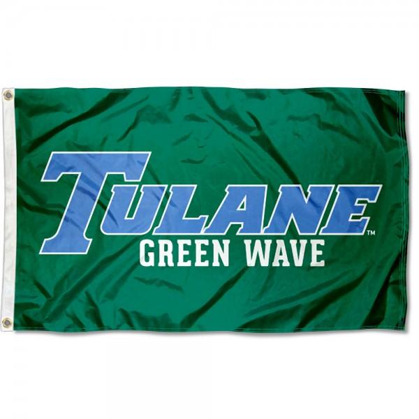 Tulane University Tulane Blue Flag
